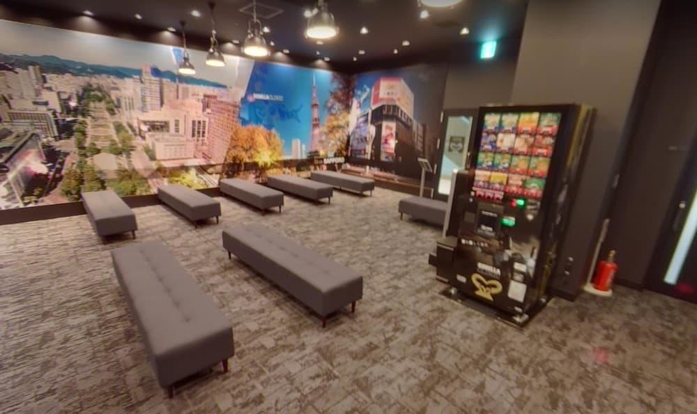 ゴリラクリニック札幌院待合室②