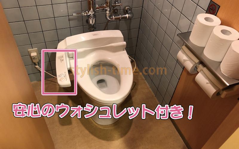 ゴリラクリニック広島院で利用するトイレの大便器